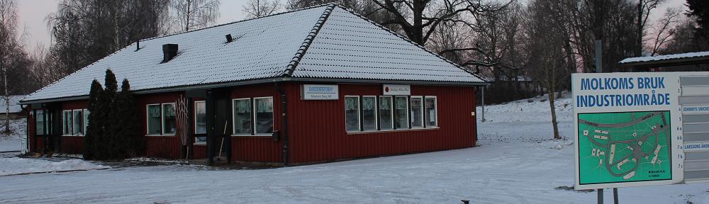 Molkom Grävmaskin Lokaler Grus Lastmaskin Bunkerkratta Hyra båt